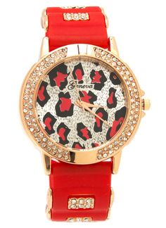 embellished-leopard-face-watch REDGOLD ROYALGOLD - GoJane.com
