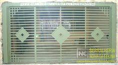 Portões em Tubo Metalom - Serralheria Noiva da Colina