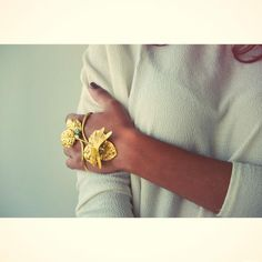 Carolina Curado DragonFly Bracelet www.carolinacurad...