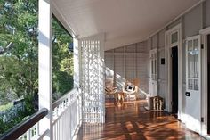 Image result for porch with french doors queenslander