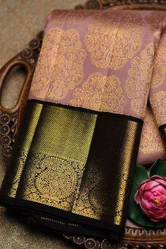 South Indian Silk Saree, Blue Silk Saree, Kanjivaram Sarees Silk, Kota Silk Saree, Indian Bridal Sarees, Wedding Silk Saree, Indian Bridal Fashion, Indian Wedding Outfits, Bridal Outfits