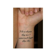Search results for tattoo quotes on imgfave found on Polyvore