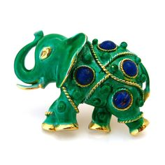Shop for elephant on Etsy, the place to express your creativity through the buying and selling of handmade and vintage goods. Vintage Brooches, Vintage Jewelry, Animal Jewelry, Cute Pattern, Mythical Creatures, Brooch Pin, Warm Blooded, Elephant Stuff, Lion Sculpture