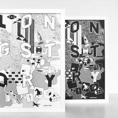 #longstoryprints #handprinted #silver #silkscreen #screenprint #screenprinted #patterndesign #printdesign #posterdesign #urbanlandscape #citystory #printisnotdead #poster #print