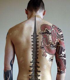 Tatouage Homme Haut Du Dos Stunning Image Ide Dos Homme Pour Se