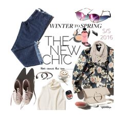 """Here comes the sun ~ Winter to Spring"" by eyesondesign ❤ liked on Polyvore featuring Garance Doré and Wintertospring"