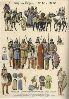 -0745 : -0610 Guerreros del imperio Asirio