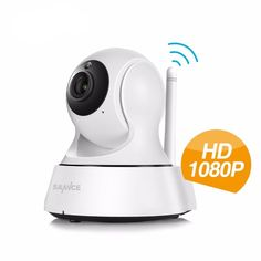 Hjt Audio H.264 1080p Full-hd Wireless Wifi Ptz Ip Camera Cctv Cam 2.0mp Baby Care Security Fish Eye Wide Angles Sd Storage Security & Protection