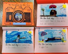 A great writing ideas for a under the sea unit