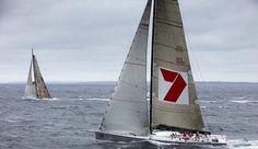 Alfa Romeo 2 and Wild Oats XI racing at the #RSHYR 2009  Photo credit: Andrea Francolini/ @afrancolini  #sailing #yachting #sails #sail #northsails #wind #waves #sailboat #maxiyacht #supermaxi #superyacht #yacht #sport #racing #yachtracing #crew #sailingstagram #secretsailing #wildoats #wildoatsxi #woxi #rshyr2009 #rolexsydneyhobart #sydneyhobart #sydneytohobart #reichelpugh #rp100 #alfaromeoyacht #alfaromeoyachtracingteam by secretsailing
