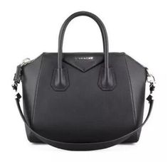 Givenchy Antigona Small Sugar goatskin Satchel Bag Black - €288.00