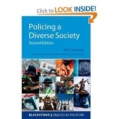 Price: $65.00 - Policing a Diverse Society (Blackstone's Practical Policing Series) - TO ORDER, CLICK THE PHOTO