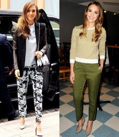 jessica alba style this week