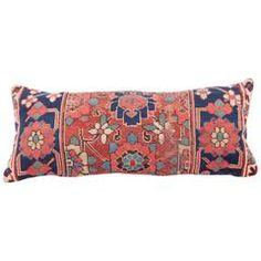Antique NW Persia Kurdish Pillow