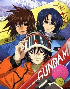 Gundam Seed Destiny : Kira Yamato, Athrun Zala, Shinn Asuka