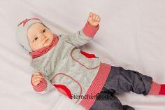 Pullover - Nicky Kragen-Hoodie *Wunschgröße* - ein Designerstück von Sternchenwolke bei DaWanda