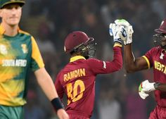 27th Match - Super 10 - Group 1 - #WestIndies vs #SouthAfrica- #T20WC2016  #SA 122 / 8 ( 20 / 20 OVERS ) #WI 123 / 7 ( 19.4 / 20 OVERS ) http://cricketscores.chdcaprofessionals.com/