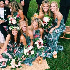 Bridal party babes in Show Me Your Mumu