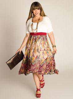Plus Size Chic: IGIGI Plus Size Namib Goddess Dress