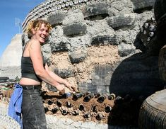 An Earthship is an off the grid building designed for autonomous and self-sustained living.  It's a unique design that combines smart construction, renewable energy sources and eco-friendly methods to produce a zero impact living space which offers the features and comfort of a 21st century home.