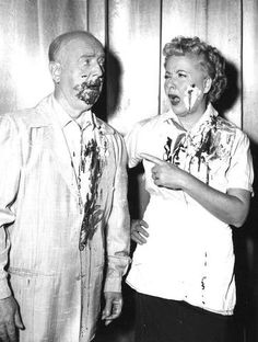 William Frawley & Vivian Vance in I Love Lucy, Fred & Ethel
