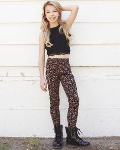 Kaylee's Flowery Pants