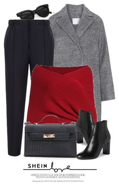 """10:18"" by monmondefou ❤ liked on Polyvore featuring Bally and Yves Saint Laurent"