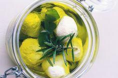 Labne (marinated yoghurt cheese balls)