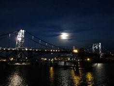 Kaiser-Wilhelm-Bridge at night #pinyourcity