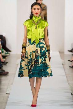 Fall+2013+Oscar+de+la+Renta+chunky+cuff+statement+necklace+earrings+and+organza+gloves+aquaskye.jpeg (598×897)