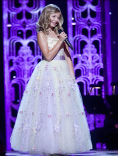 Song Bird, Jackie Evancho. She may be just 12, but she knows what she's good at, enjoys doing it and keeps getting better. I admire that.
