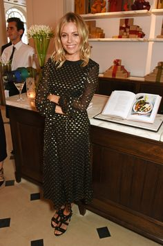 Sienna Miller Brings a Little Boho Glamour to the Party
