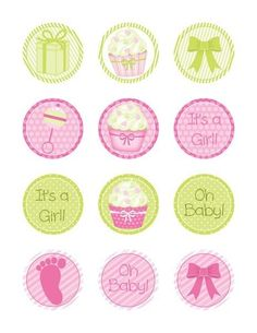 lespassionscreativesdemarie - Page 8 Baby Shower Cards, Baby Cards, Baby Shower Parties, Shower Party, Cupcake Toppers Free, Baby Shower Cupcake Toppers, Printable Designs, Printable Stickers, Free Printable