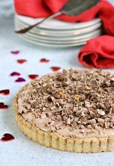 Hazelnut Chocolate Cream Tart
