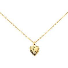 Kette Goldenes Herz