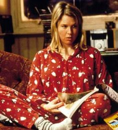 I LOVE BRIDGET JONES die pyama :-)