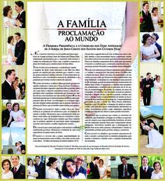 qUADRO PROCLAMAÇÃO A FAMÍIA EM ACRÍLICO COM FOTOS DE FAMÍLIA