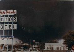 """Wichita Falls, Texas.  Tuesday, April 10,1979  """"Black Tuesday"""""""