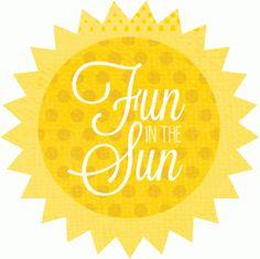 Silhouette Online Store: fun in the sun