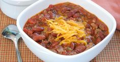 Whip up a batch of this delicious chili and have it within the hour -- no day-long simmering required