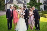 Family photo wedding portraits, family photo ideas 3 generations [Photo by Anna Lauridsen]
