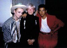 "Boy George Flashback: With Andy Warhol & Jon Moss ""Boy George Flashback: With Andy Warhol & Jon Moss"""