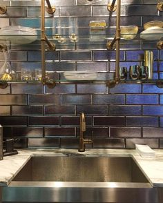 Today is #NationalTileDay and sexy black tile is what I recently saw a LOT of at @kbis_2017  Looking forward to seeing everything tile and stone when I hit Orlando for @coveringsshow in April!