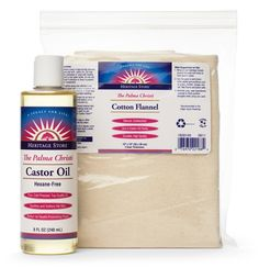 How to Make a Castor Oil Pack: for menstrual cramps, detoxing, fibroids, and muscle pain