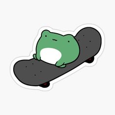 Frog Wallpaper, Drawing Wallpaper, Cartoon Wallpaper, Tumblr Stickers, Anime Stickers, Cool Stickers, Cute Little Drawings, Easy Drawings, Frog Drawing