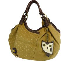 Chala Hoohoo Owl Dottie Hobo - Brown - Free Shipping & Return Shipping - Shoebuy.com