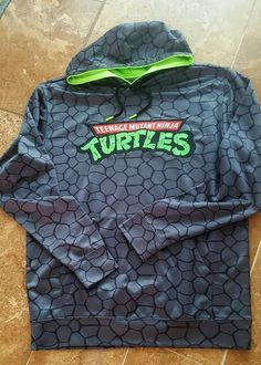 Nickelodeon Teenage Mutant Ninja Turtle Hoodie Adult Sz L #Nickelodeon #Hoodie