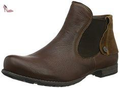 Think!  DENK!, Bottes Classiques femme - Marron - Braun (Hazel/KOMBI 50), 42 EU - Chaussures think (*Partner-Link)