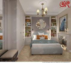Дизайн маленькой спальни: фото