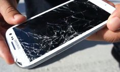 Samsung Galaxy S3 drop test - broken